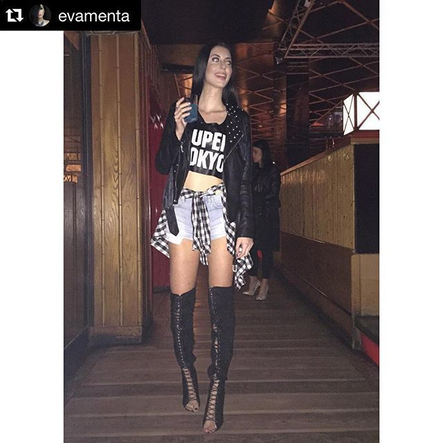 #Repost @evamenta ・・・ •Yesterday night• #evamenta