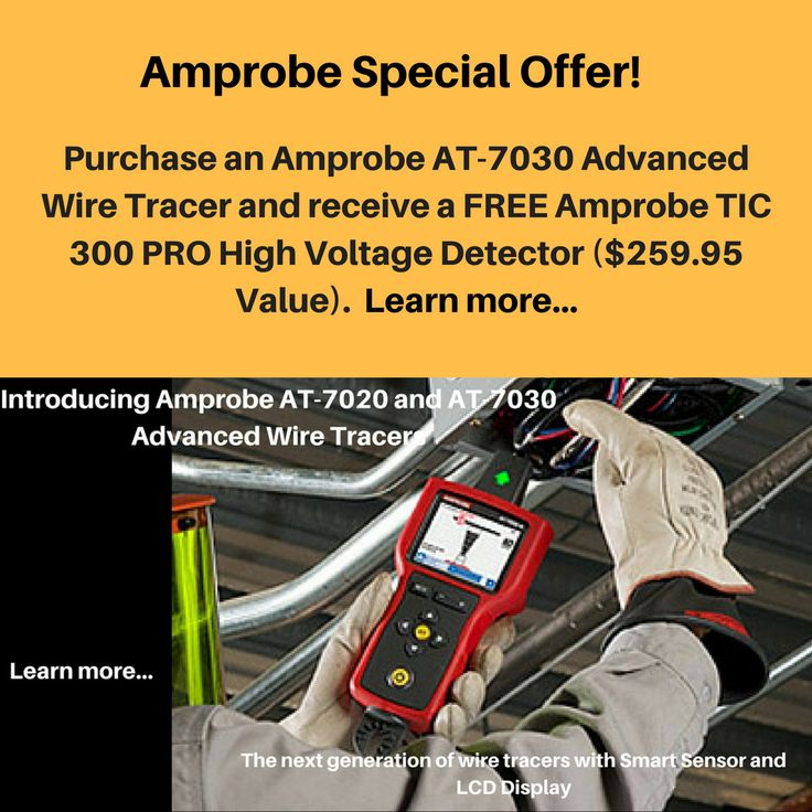 18 melhores imagens de hot deals no pinterest instrumentos html e amprobe special offer purchase an amprobe at 7030 and receive a free amprobe tic fandeluxe Gallery