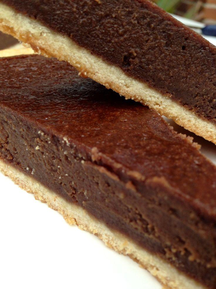 tarta de castañas y chocolate