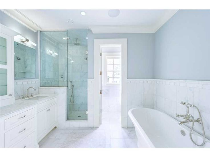 Gorgeous Bright And White Bathroom Of 15 Dearfield Ln, Greenwich CT, 06830  Home For