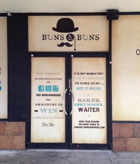 Buns & Buns - South Miami...totally gonna check this out this weekend!