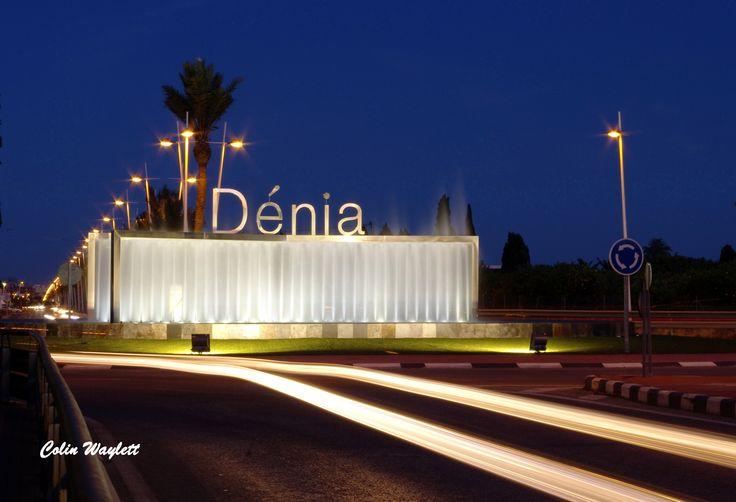 LLegando a Dénia Arriving in Dénia
