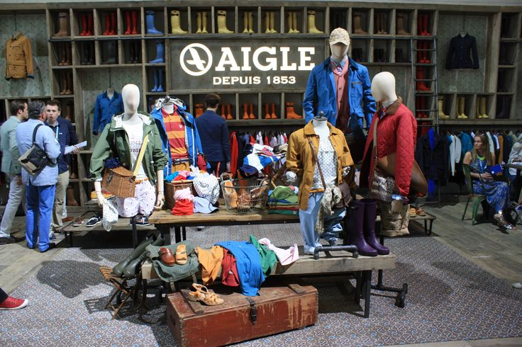 AIGLE at Bread & Butter