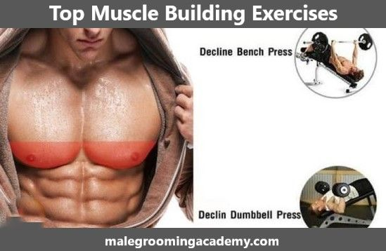 Top Muscle Building Exercises For Men #Fitness #Health #Food #live #life