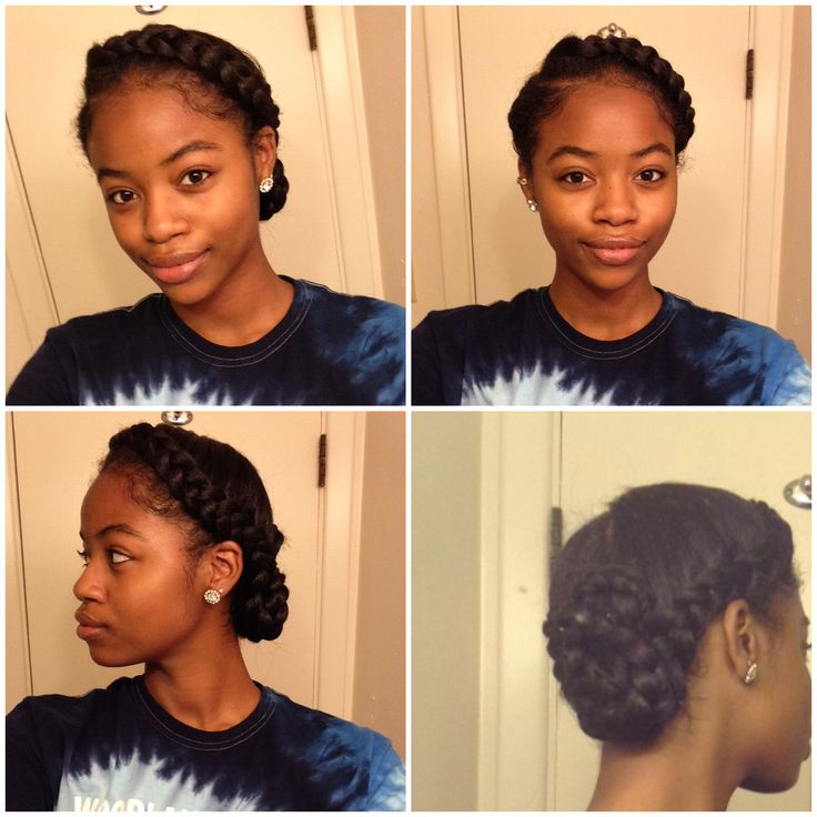Goddess braid  2 Braids Protective style Side braid Black women  African American  No heat  Summer hairstyle