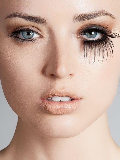 fake lashes | Tumblr