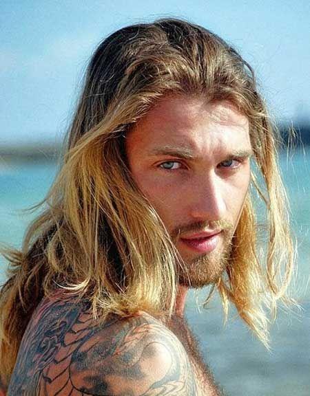 Dirty blonde man | Viking men | Pinterest | Men with long ...