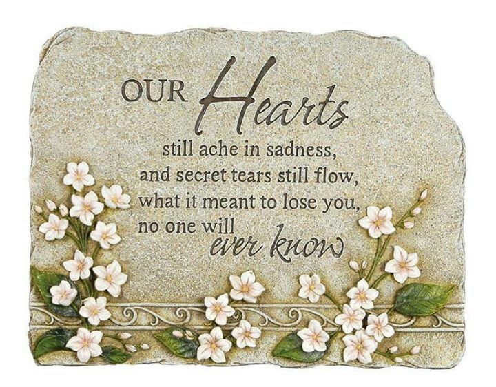 Happy birthday in heaven memorials missing loved one moms in heaven miss you dad miss my for Garden memorials for loved ones