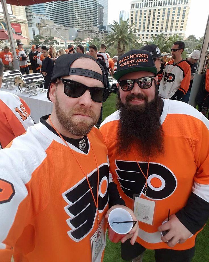 Philadelphia Flyers Vs. Las Vegas Golden Knights Pre-Game Party with over 1400 Flyers Fans at Beer Park (Rooftop Beer Garden) in Las Vegas 2/11/18 #PhiladelphiaFlyers #LasVegasGoldenKnights #NHL #BeerPark #RooftopBeerGarden #PreGameParty #TMobileArena #InuaguralSeason #VGK #LasVegas #Nevada #WhatHappensInVegasStaysInVegas #SinCity #ViolentGentlemen #VGHC #MakeHockeyViolentAgain #PhansOfPhilly #InvadeVegas #FlyersRoadTrips #OrangeAndBlack #LetsGoFlyers #Beard #LaterGram