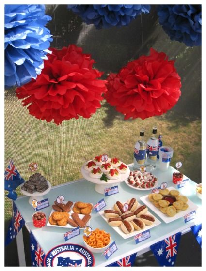 17 best images about leaving party ideas on pinterest for Australia day decoration