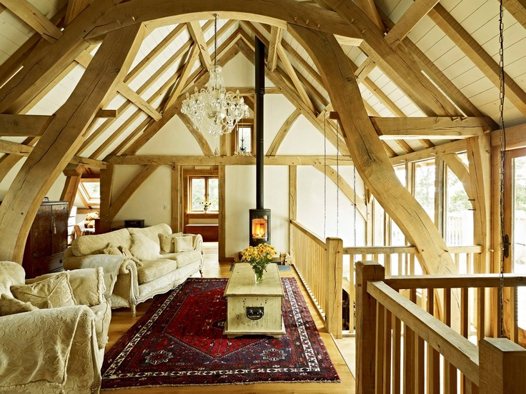 17 best images about timber frame homes on pinterest for Cruck frame house plans