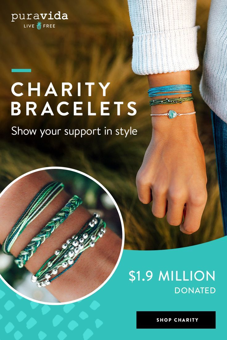 Shop Our Charity Collection For Bracelets That Give Back We Ve Donated 1 9 Million To Our Charity Partners To Charity Bracelet Dragon Jewelry Bracelet Crafts
