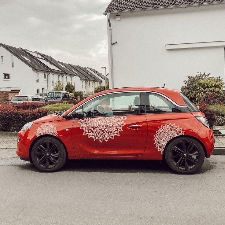 Mandala sticker auto tuning styling opel adam in 2020