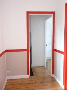 Une déco fil rouge pour un bureau haut en couleurs. Reportage déco à retrouver sur  http://www.kiosquedeco.fr/decoration/designsentry_portf/deco-bureau-couleur-fil-rouge
