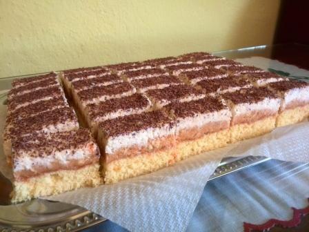 Kokosovo-punčové rezy, recepty, Zákusky | Tortyodmamy.sk