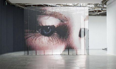 Philippe Parreno's video art: a moving spectacle full of snowdrifts and tears