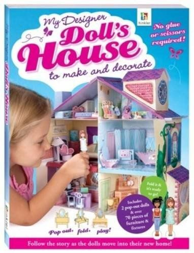 My Designer Doll's House to Make and Decorate ISBN 9781741843026