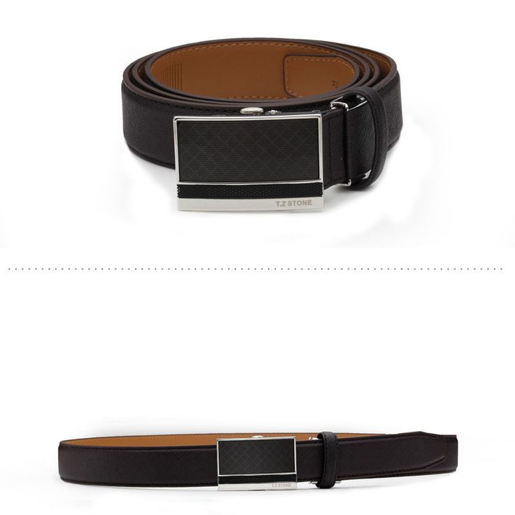 T.Z STONE Belts Italy Leather Casual Men's Waist New Belt Accessories TZ1D301DB #TZStone