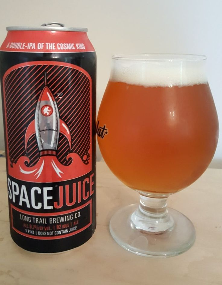 Long Trail Space Juice is an 8.7 ABV 82 IBU ADIIPA.  The pour is orange amber and the nose big dank hop.  The palate is sweet malt and big, dank bitterness, with that hop taking a piney, citrus character.  Mouthfeel is moderate and creamy and within the style.  The sweet booziness definitely presents itself full force taking away just some of the drinkability.  Long Trail makes consistently good middle of the road beers but show they can throw down in this hop bomb arena.  Thanks, Murphy.