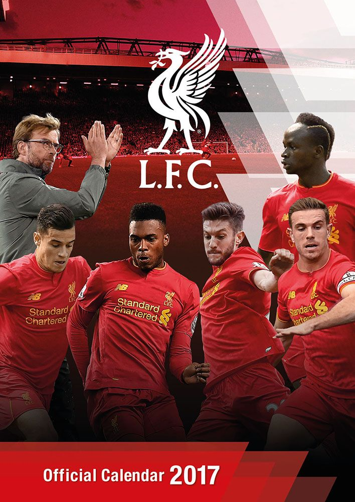 Official Liverpool FC 2017 Calendar now available for only £8.99 and Free UK Delivery (Worldwide Delivery also available) at http://bit.ly/FootballCals2017