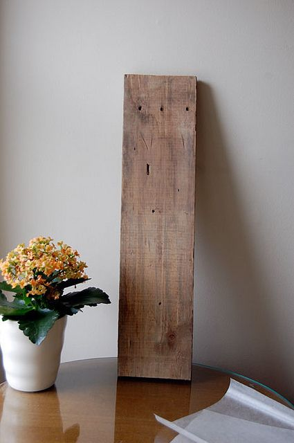 A really simple way to transfer any printable image onto smooth timber: Waxed-paper-transfer-3 by The Art of Doing Stuff, via Flickr