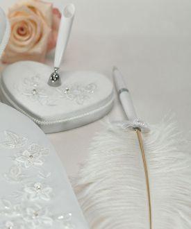 Fl Fantasy Heart Shaped Pen Set Bridal Everything