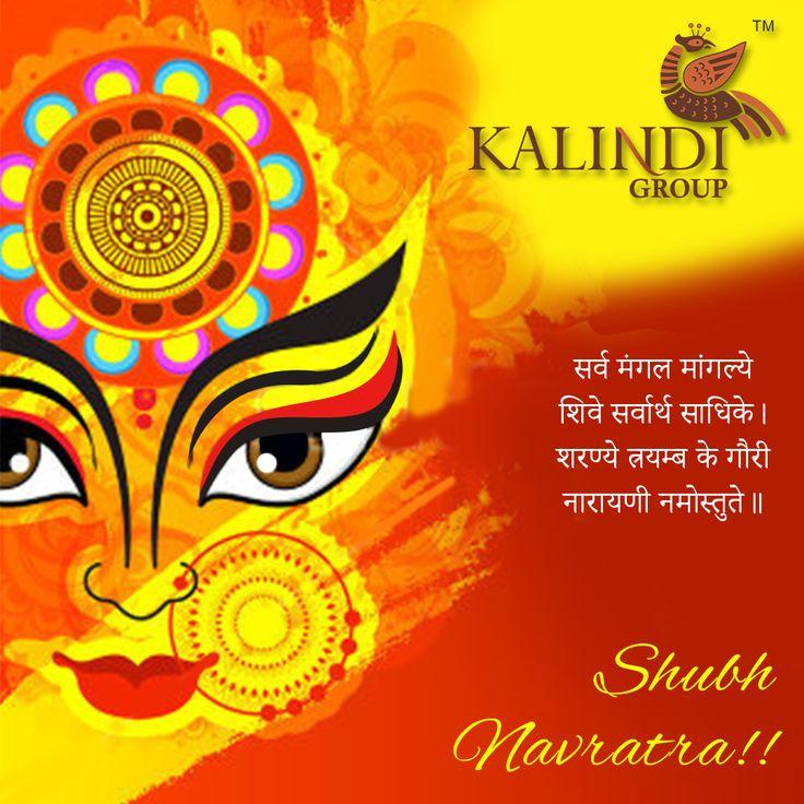 या देवी सर्वभुतेषु विष्णुमायेति शब्दिता । नमस्तस्यै नमस्तस्यै नमस्तस्यै नमो नमः    Kalindi Group wishes everyone a very Happy Navratri