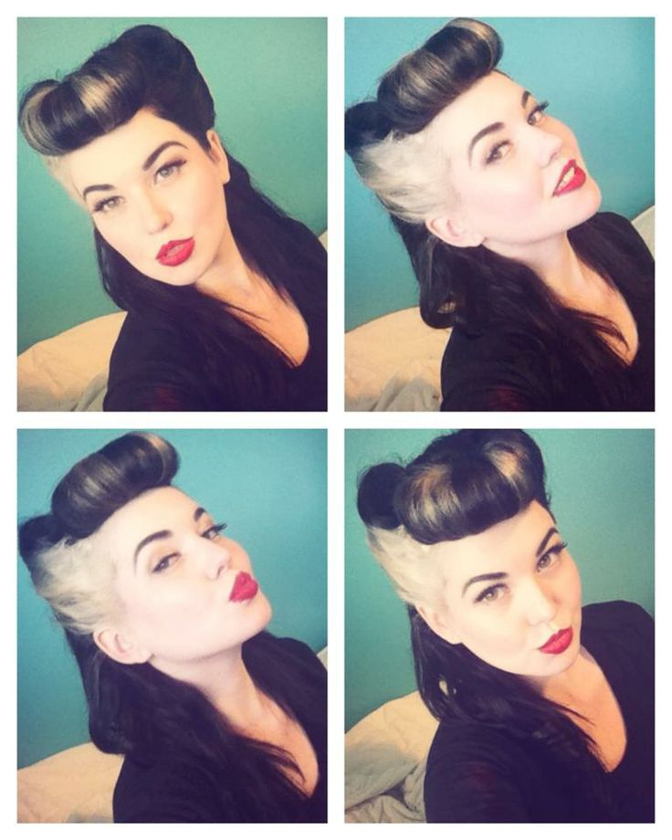 Bumper Bangs and Victory Rolls!!