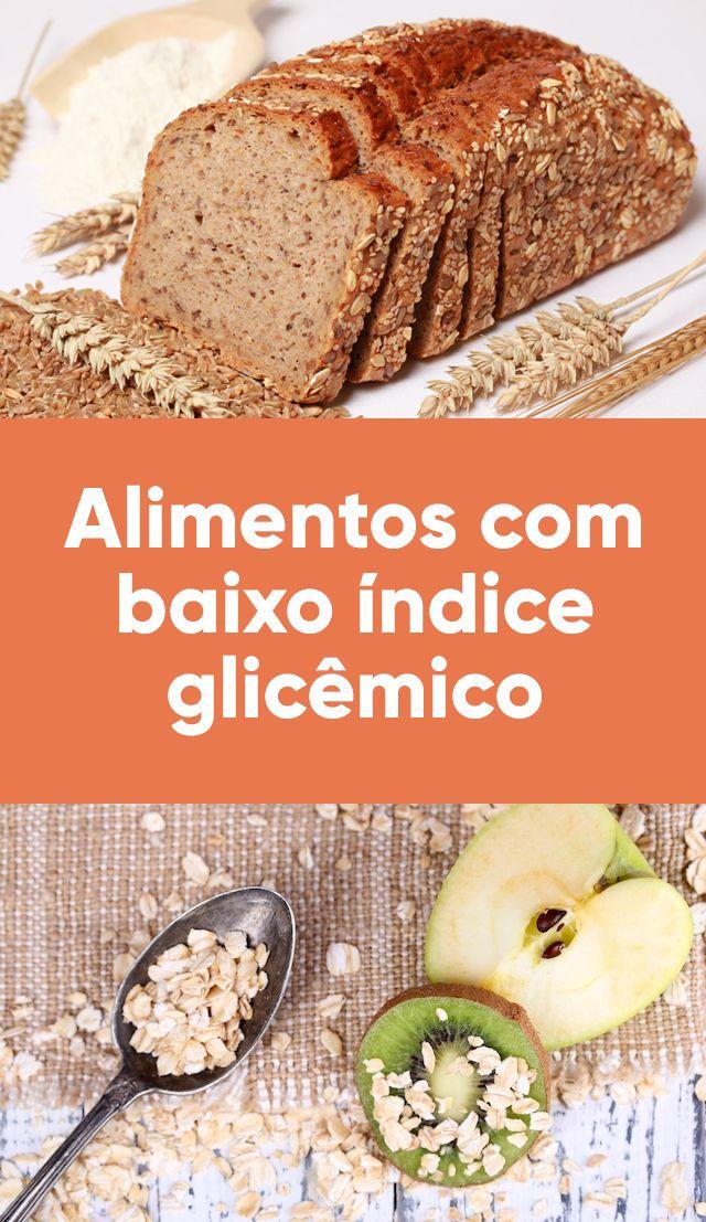 Os alimentos com baixo índice glicêmico são aqueles que não elevam muito o açúcar no sangue e por isso são boas escolhas para quem deseja emagrecer e para os diabéticos, pois eles ajudam a manter a glicemia controlada.