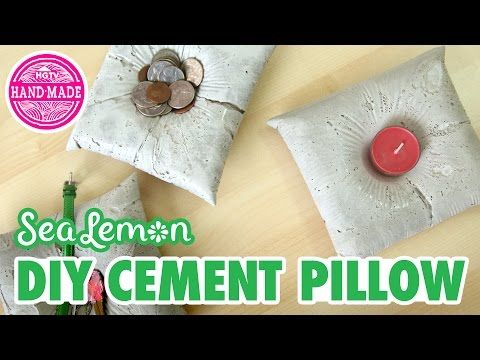 61 best images on pinterest hgtv how to make and diy add a fun touch of industrial decor to your home with these diy cement pillows for more cement tips sea lem solutioingenieria Image collections