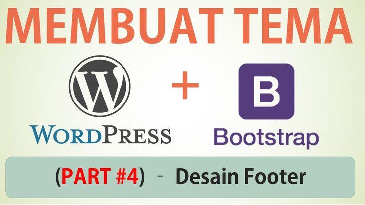Membuat Tema Wordpress dengan Bootstrap Part #4 (Desain Web Index.html -...