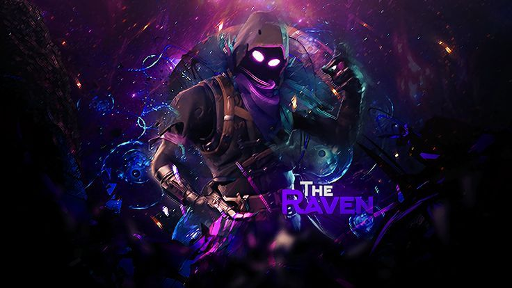 Fortnite Wallpaper The Raven Fortnite Battle Royale Video Game