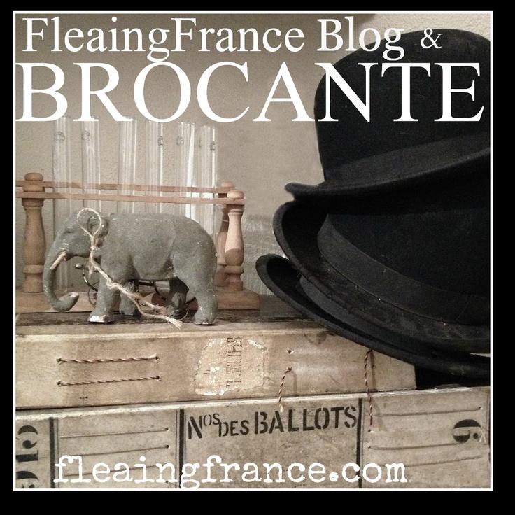 The blog & brocante  fleaingfrance.com