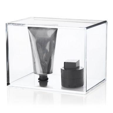 Clear Box With Lid Tall Förvaringslåda | Nomess | Länna Möbler | Acrylic/akrylplast