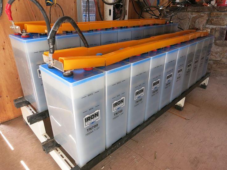 Off-Grid Solar Battery Back Up Installation |Off Grid Batteries