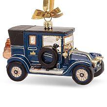 """Downton Abbey ® 5.25"""" Glass Car Ornament  - shopPBS.org"""