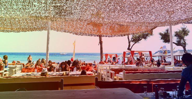 Tropicana beach club Mykonos Greece