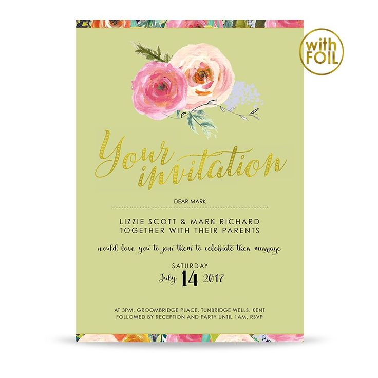 55 best Our Wedding Invitations images on Pinterest   Shops, Html ...