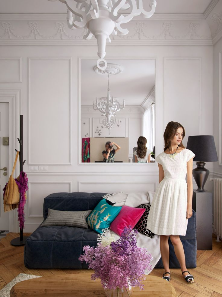 """Picture from """"Bachelorette"""" - project by interiordelight.ro. An artist has no home in Europe save in Paris (Nietzsche)"""