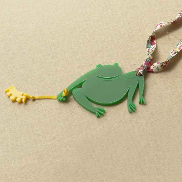k-boo : frog necklace from Ghika collection
