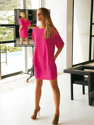 Schnittmuster: Sommerkleid - Rückenausschnitt - Shirtkleider - Kleider - Damen - burda style