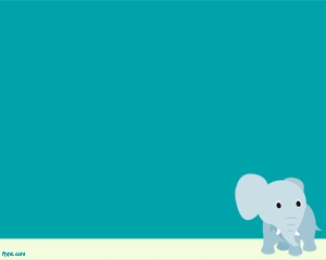 This is Elephant PowerPoint template, a funny background with an elephant image that you can use to decorate your PowerPoint presentations with animal slides