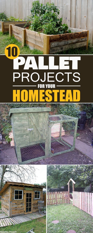 Wooden pallet craft projects - 10 Genius Pallet Projects For Your Homestead Wooden Palletswooden Pallet Craftswooden