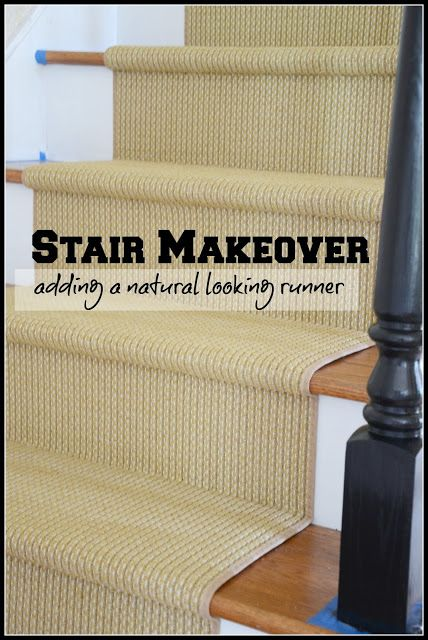 Finding a jute/sisal alternative carpet... and lots of tips for carpeting stairs