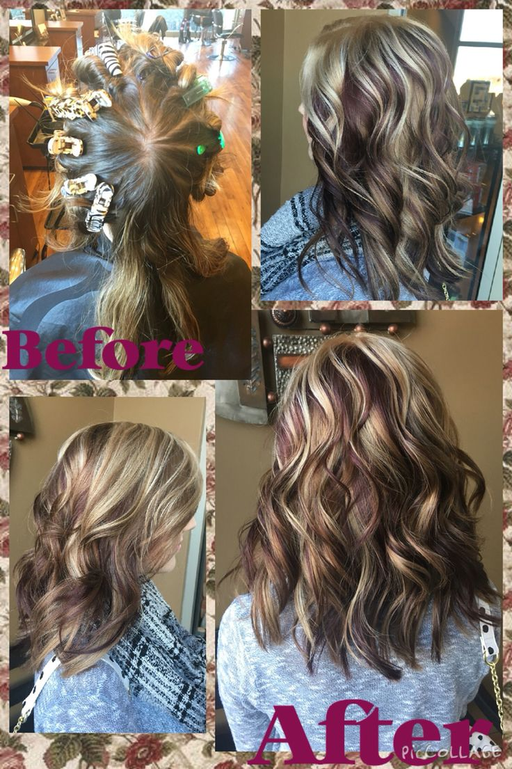 Pinwheel hair color I did at the salon today! Must say I am pretty proud of myself.