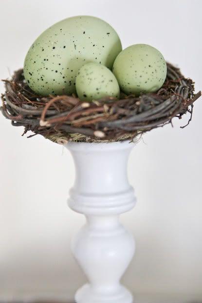 "grapevine wreath ""nest"""