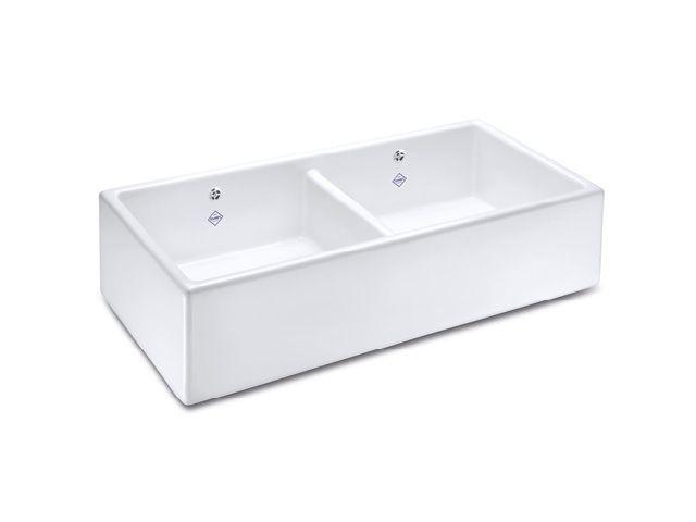 Contemporary Shaker Double Kitchen Sink | Shaws of Darwen