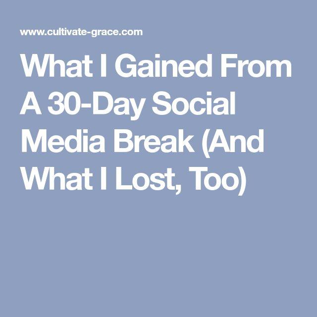 Best  Social Media Break Ideas On   Get Off Your