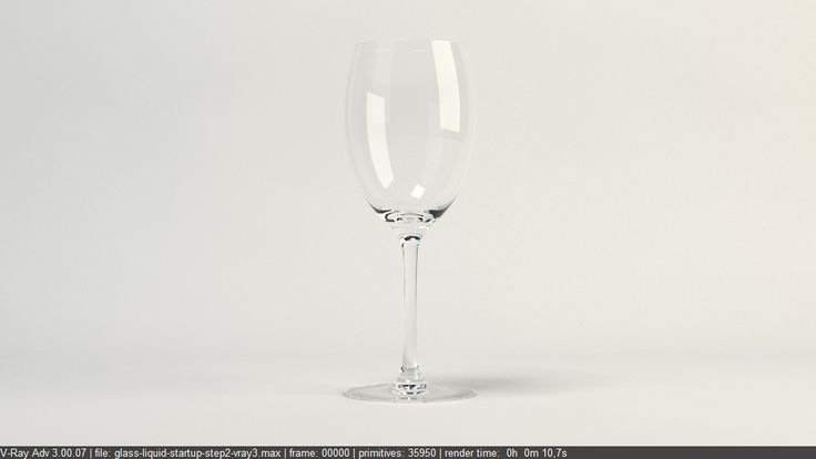 Free Vray Tutorial | Rendering glass and liquid with Vray