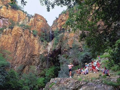 The Magaliesberg mountains, 100 times older than Mount Everest.